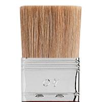 Flat brush pure light ox hair