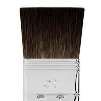 Pure squirrel hair flat brush