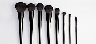Extra soft and full line of make up brushes