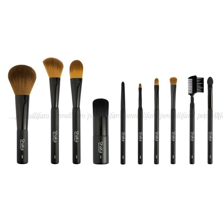 Design of three lines of brushes for Shaka Innovative Beauty