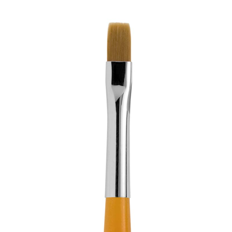 No.5 FLAT SYNTHETIC FIBRE NAIL LBRUSH