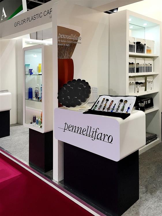 Pennelli Faro on the portal TheNational.ae after the experience at Beautyworld Middle East 2015 in Dubai