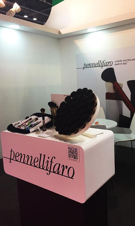 Major success of Pennelli Faro's luxury collections at Beautyworld Middle East in Dubai