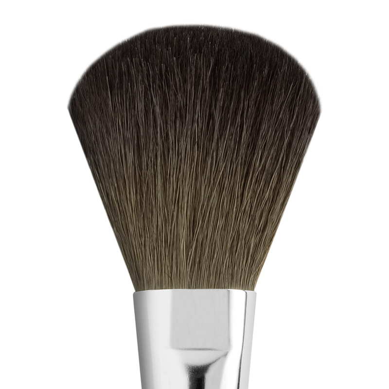 LARGE FLAT GOAT BRONZER BRUSH