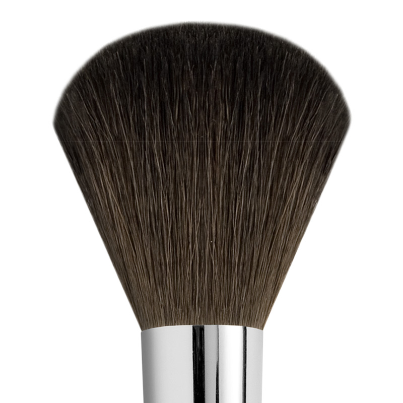 LARGE ROUND GOAT POWDER BRUSH