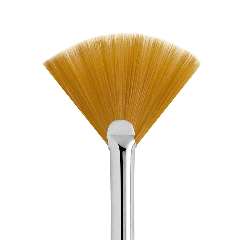 SMALL FAN SYNTHETIC FIBRE TREATMENT BRUSH