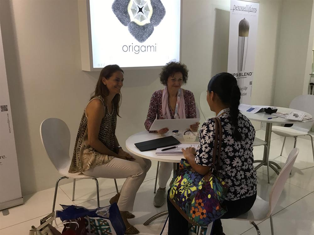 Origami® range of cosmetic brushes selected as one of the top 10 product launches of 2017 at Beautyworld Middle East