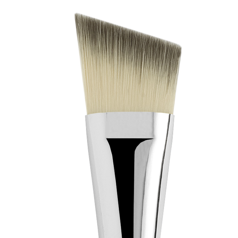 ANGLED FLAT SYNTHETIC FOUNDATION BRUSH