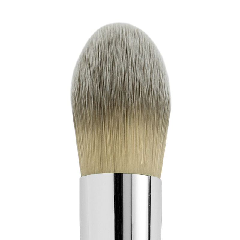 EGG SHAPE ROUND SYNTHETIC FOUNDATION BRUSH