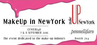 Make Up in New York 2016 accoglie Pennelli Faro
