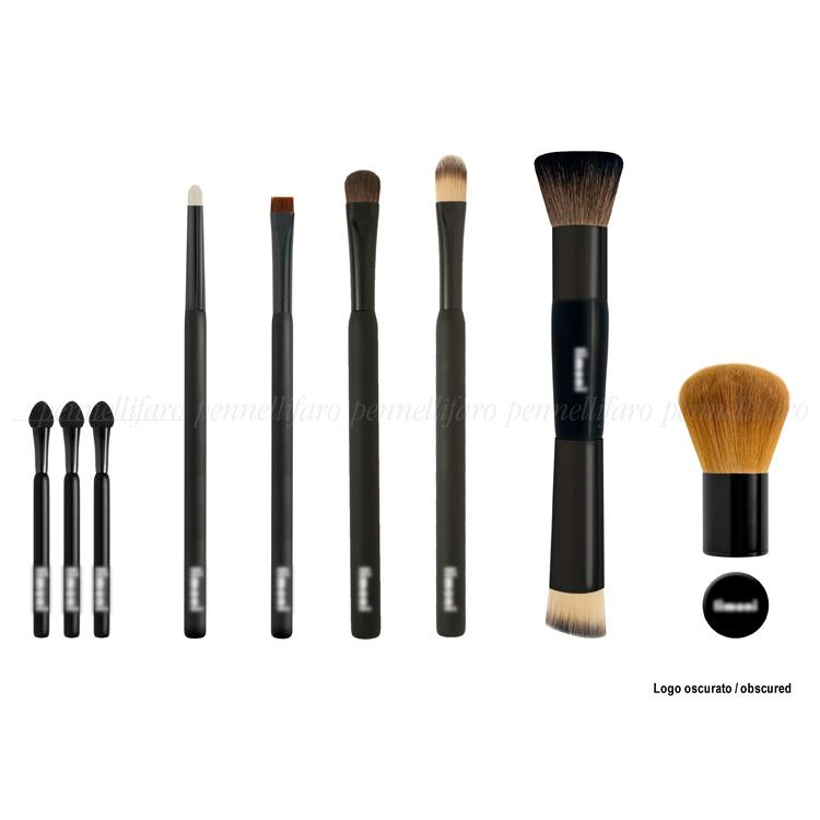 Full-line of brushes for a Italian chain of perfumer's shops