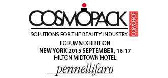 International Business Forum and Exhibition a New York organizzato da COSMOPACK