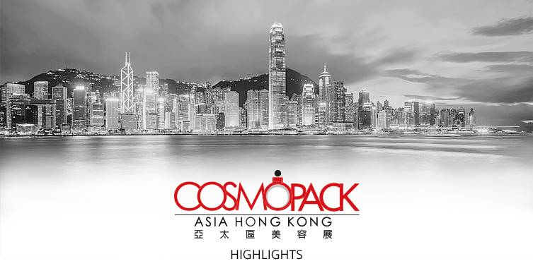 Highlights da Cosmopack Hong Kong