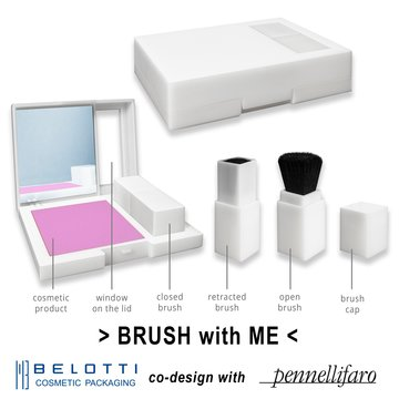 Co-design with Marino Belotti Cosmetic Packaging