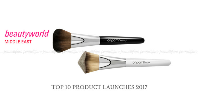 Origami® range of cosmetic brushes selected as one of the top 10 product  at Beautyworld Middle East Exhibition 2017