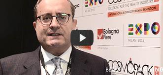 Maurizio Arletti, Export manager for Pennelli Faro, interviewed at Cosmopack New York 2015
