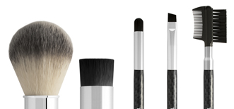 Development of a carbon fibre look shaving, grooming, make-up and skin care brush collection for men