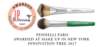 Ecosophy® e Origami® Prisma vincitori del Make Up Award - Product Innovation of Make Up In New York 2017