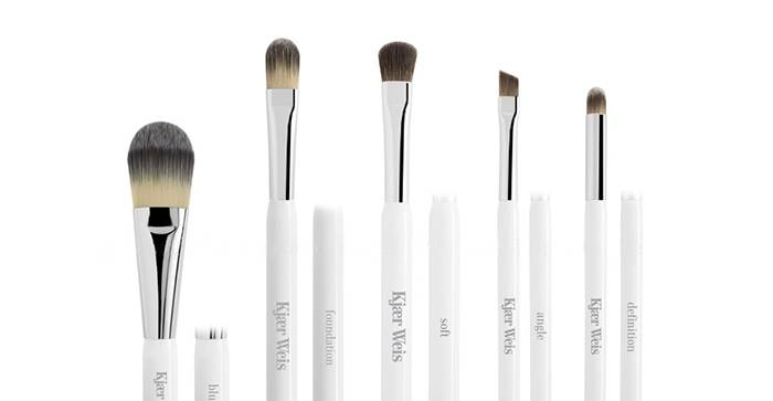 'KJAER WEIS' brush collection