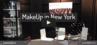 Pennelli Faro to MakeUp in New York 2014