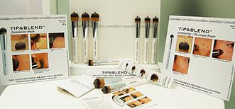 The innovative make-up concept TIP&BLEND™ presented at Cosmopack 2016