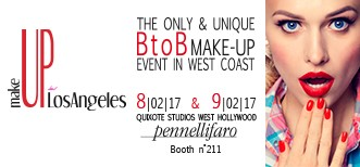 Pennelli Faro exhibits at MakeUp in Los Angeles 2017