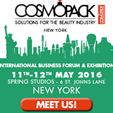 Pennelli Faro a Cosmopack New York 2016 - The International Business Forum & Exhibition