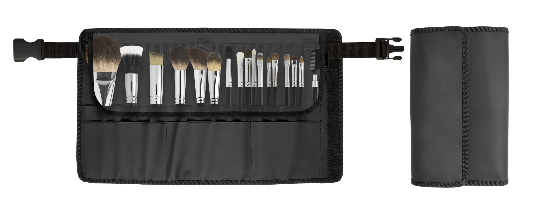 BRUSH HOLDER WITH No.17 PROFESSIONAL BRUSHES