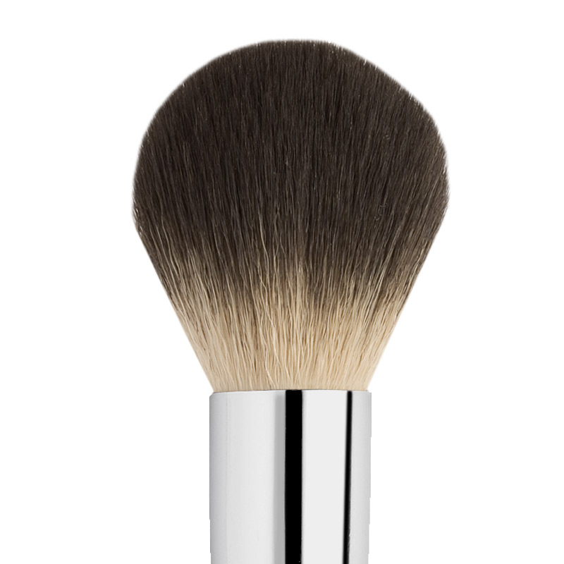 EGG-SHAPED SYNTHETIC POWDER BRUSH